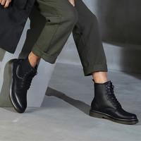 BeLLE 百丽 12465DD8 男士马丁靴