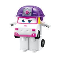 奥迪双钻(AULDEY)超级飞侠 男孩女孩儿童玩具车 迷你变形-小柔 730023 *6件