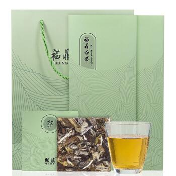 熙溪 福鼎白茶  白牡丹茶叶500g(100片)礼盒装
