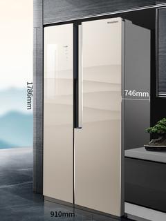 Ronshen/容声 双开门电冰箱BCD-650WD11HPGA