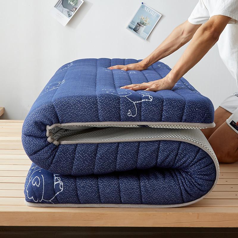 制梦家纺 乳胶纤维榻榻米床垫 150*200*9cm