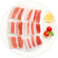 双汇 五花肉片500g/袋 免切带皮五花肉 猪肉生鲜