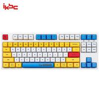 ikbc 樱桃轴无线机械键盘 87键 高达RX-78-2 VER1.0 W机械键盘 红轴