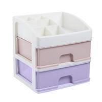 MENGSIYUAN 梦思园 马卡龙桌面抽屉收纳盒 2层
