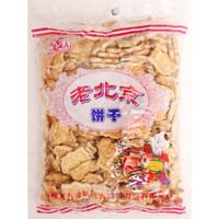 动物饼干450g袋北方绿人方煌3/5袋雪花酥材料饼干办公零食 2袋一份方煌老北京