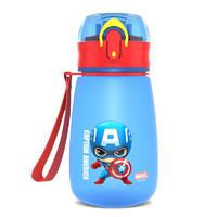 迪士尼 儿童水杯宝宝幼儿园直饮吸管杯男童女童小学生防摔水壶夏季