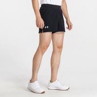 安德玛 男款二合一透气速干运动短裤