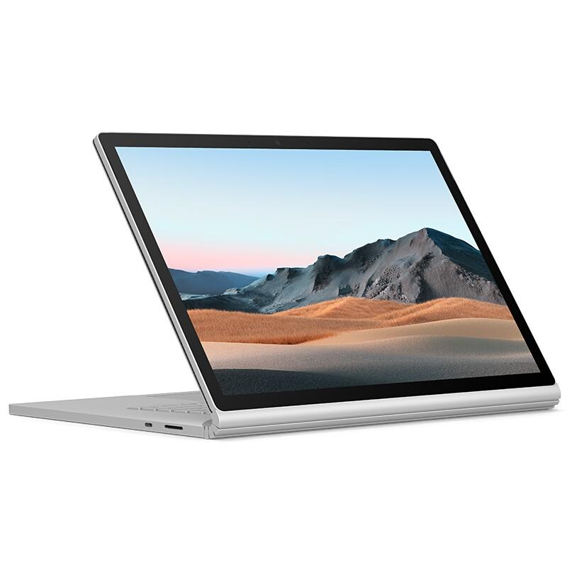 微软 Surface Book 3 13.5英寸  二合一平板 轻薄本 高性能设计师本  i7 32G大内存 512G GTX1650独显