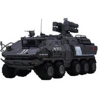 凯迪威流浪地球运载车模型合金行星发动机周边运输车 1:50运兵车 629001