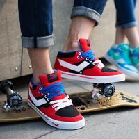 PONY波尼男鞋春夏透气休闲滑板鞋Atop经典耐磨低帮运动鞋82M1AT03 *2件