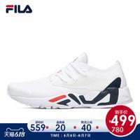 FILA 斐乐官方 男子跑步鞋 2020夏新款透气飞织网面鞋运动鞋 *4件