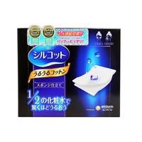 unicharm 尤妮佳 二分之一省水化妆棉 40枚 *3件