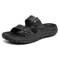 SKECHERS 斯凯奇 男士拖鞋 204150 黑色 39.5