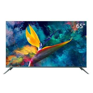 长虹 65A8U 65英寸人工智能全面屏4K超高清HDR全金属超薄语音液晶电视机