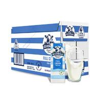 德运 全脂高钙纯牛奶 1L*10盒