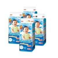 nepia 妮飘 Genki!婴儿纸尿裤 L54片*4包