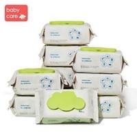 babycare 婴儿湿巾无酒精 厚湿巾 80抽 10包 *2件