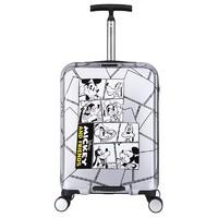迪士尼(Disney)拉杆箱20英寸米奇90周年万向轮旅行箱男女学生登机箱飞机轮行李箱 DSMK-2018-100820