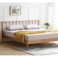 维莎 N0469 全实木床现代床 1.8m