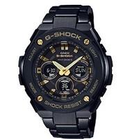 CASIO 卡西欧 G-SHOCK系列 GST-W300BD-1APRT  男士石英手表