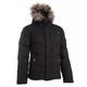 滑雪运动保暖轻盈男式羽绒服夹克 MIDSLIDE - BLACK