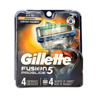 Gillette 吉列 锋隐5致顺男士剃须刀头 4刀头(不含刀架)