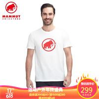 MAMMUT 猛犸象 男士亲肤经典LOGO短袖T恤 多款可选 *4件+凑单品