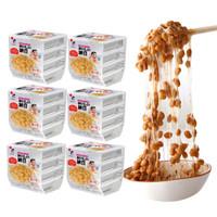 聚鲜品 日本进口纳豆24盒*40g 北海道拉丝即食纳豆 *3件