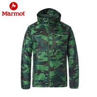 Marmot 土拨鼠 H52431 男士迷彩开衫外套
