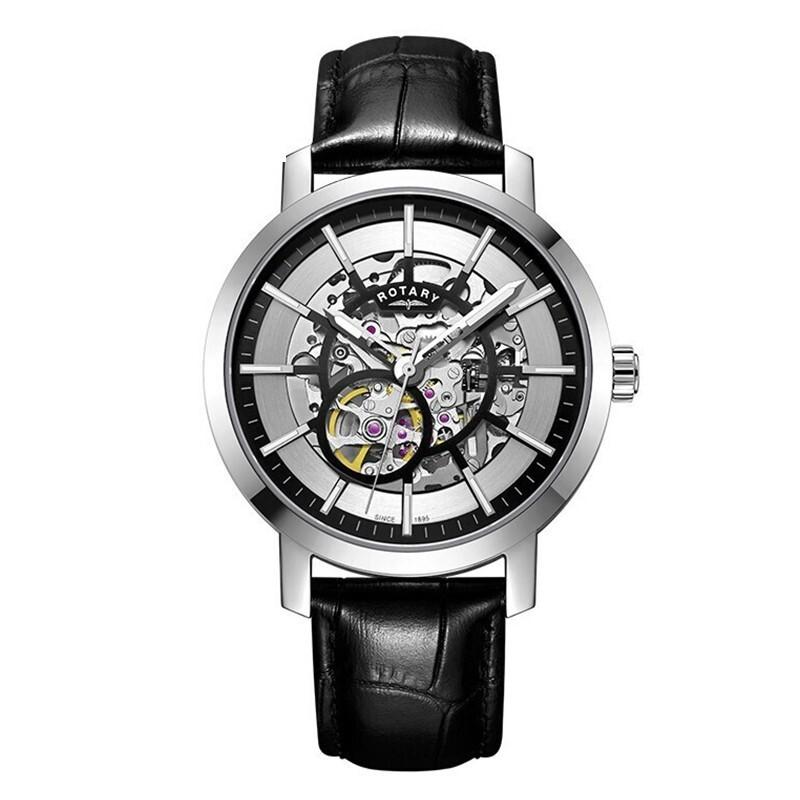 Rotary 格林威治系列 GS05350-02 男士自动机械手表