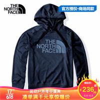春夏款the north face北面卫衣男女情侣款户外舒适连帽外套3VTH/4NFG NF0A497IH2G L *3件