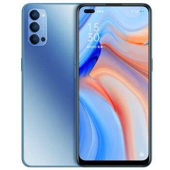 OPPO Reno4 5G手机 8GB+128GB 晶钻蓝