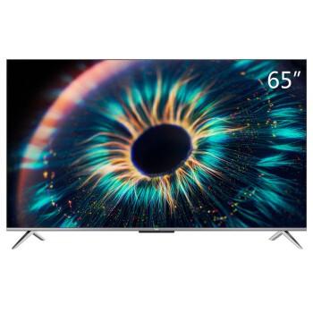 TCL 65V8 65英寸 4K超高清电视 AI声控智慧屏 超薄全面屏 8K解码 2+16GB 影视教育 智能网络液晶平板电视机