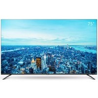 双11预售:TCL 75V2 75英寸 4K 液晶电视 黑色