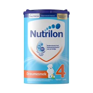 Nutrilon 诺优能 婴幼儿配方奶粉 4段 800g*4(12-36个月)荷兰版