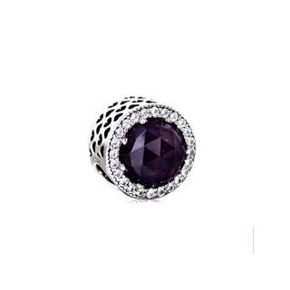 PANDORA 潘多拉 791725NRP 紫色水晶串饰 +凑单品