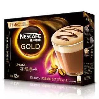 Nestle 雀巢 睿雅摩卡咖啡 21g*12条 *5件 +凑单品