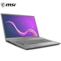 MSI 微星  创造者 Creator 15M  15.6英寸笔记本电脑(i7-10750H、16GB、512GB、GTX 1660Ti Max-Q)