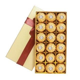 费列罗巧克力礼盒装糖果情人节生日礼物送女友生员工福利进口零食 费列罗榛果巧克力礼盒 *6件
