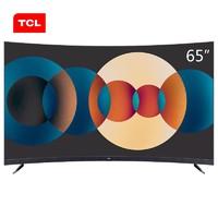 TCL 65T3S 65英寸 4K曲面电视