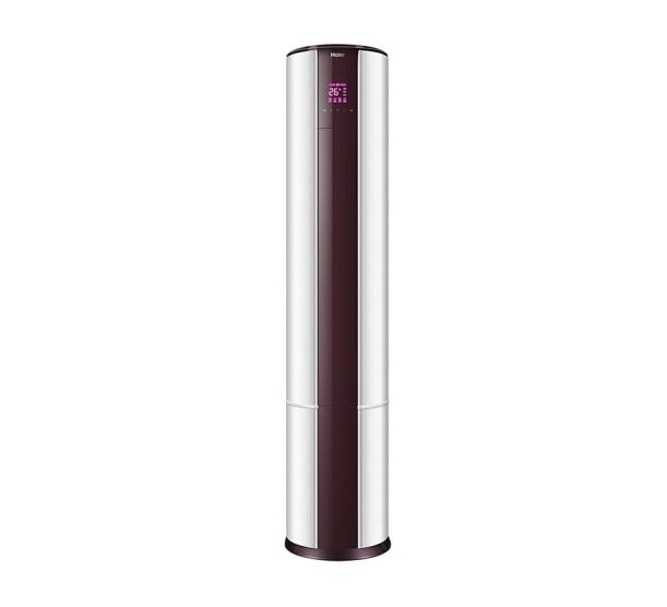 Haier 海尔 先行者系列 KFR-50LW/07EDS81U1 2匹 变频 立柜式空调 海尔白+拉菲红