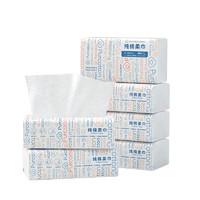 Purcotton 全棉时代 一次性纯棉洗脸巾 加厚款 80片*6包 +凑单品