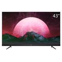 TCL V6系列 43V6 43英寸 4K超高清全面屏液晶电视