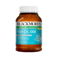 BLACKMORES 澳佳宝 原味深海鱼油胶囊 400粒/瓶