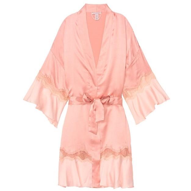 VICTORIA'S SECRET 维多利亚的秘密  11160750  女士缎面睡袍
