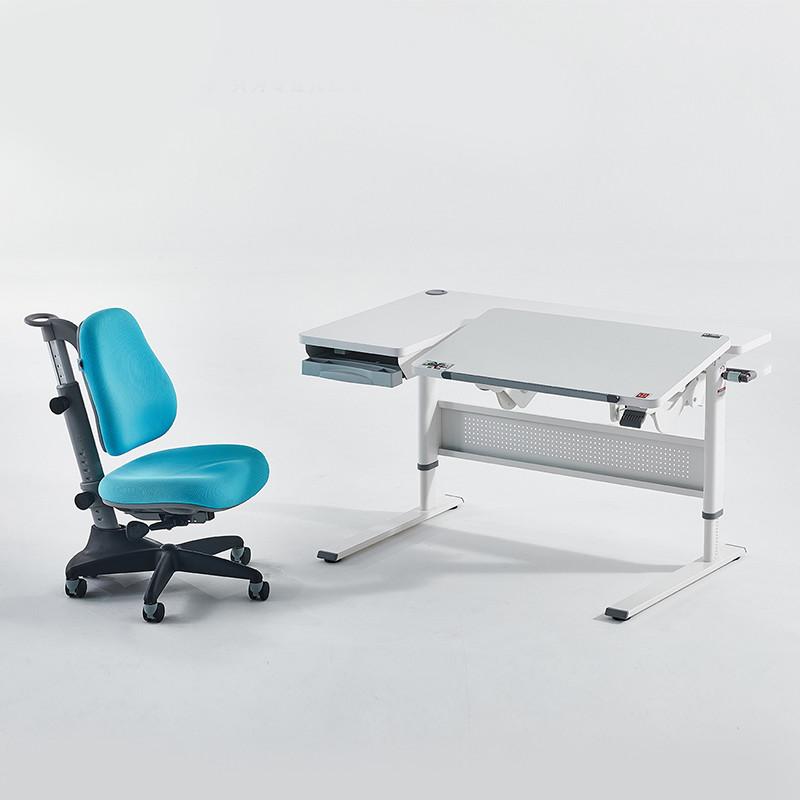 COMF-PRO 康朴乐 M26+Y1018 儿童学习桌椅套装 牛仔蓝