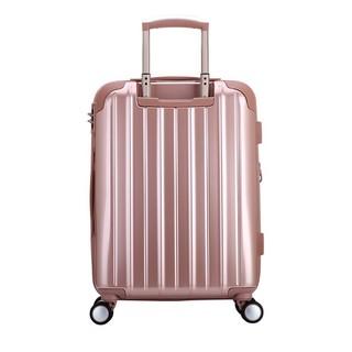爱华仕(oiwas)新品旅行拉杆箱 时尚行李箱登机箱 6355 玫瑰金 20英寸
