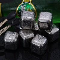 kavar 米良品 304不锈钢速冷金属冰块 6个装+冰夹+盒