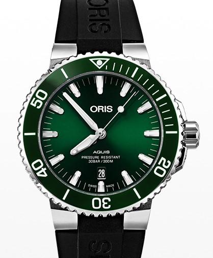 ORIS 豪利时 ORIS AQUIS系列 01 733 7730 4157-07 4 24 64EB 男士自动机械手表