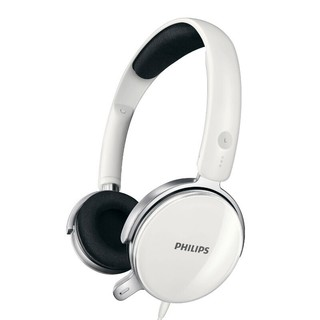 PHILIPS 飞利浦 SHM7110U 有线耳机 头戴式 白色 游戏款